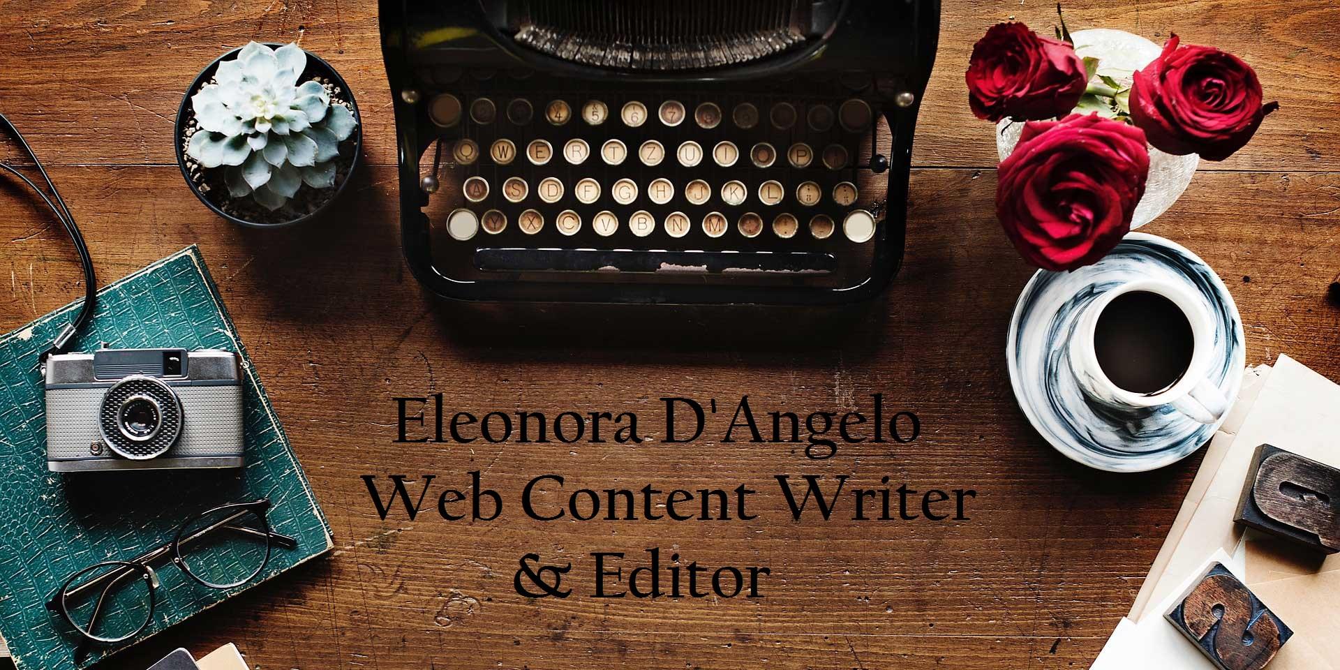 Eleonora D'Angelo web content editor Seo