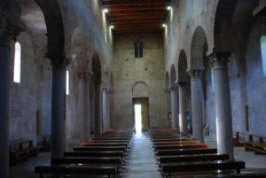 navata chiesa bisarcio ozieri
