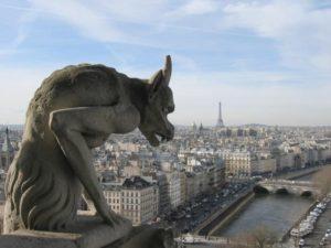 gargoyle in francia