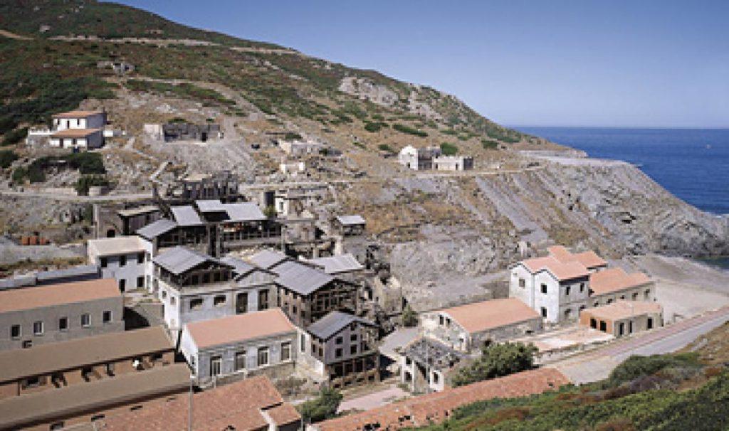Argentiera, history of minerary Sardinia