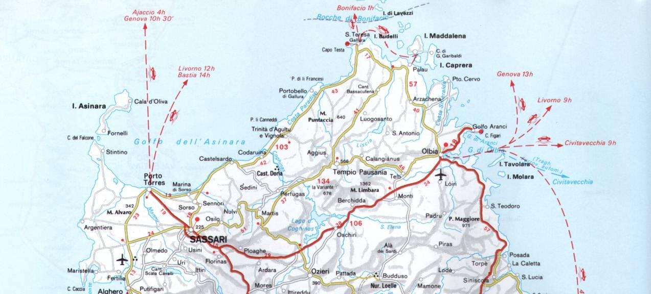 Northern Sardinia Best Coast Itineraries: Sandàlia Racconta selection