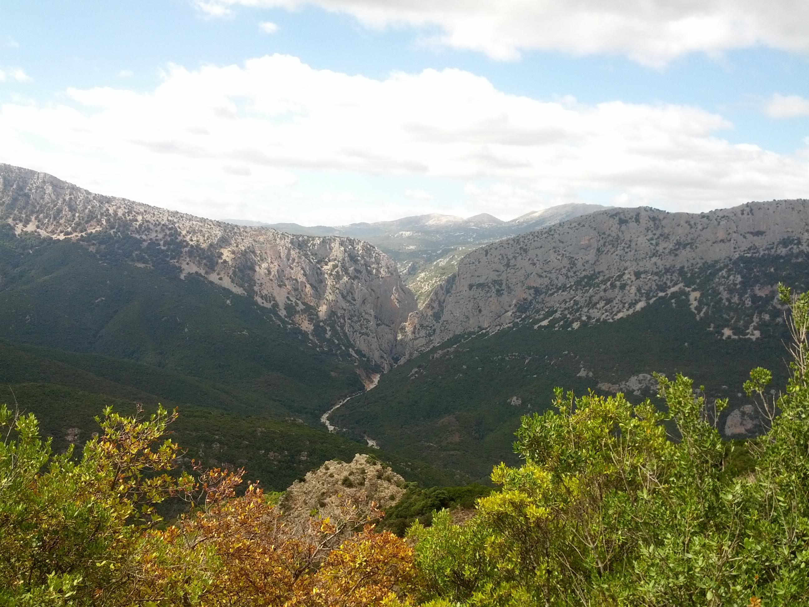 Canyon Gorropu Gorroppu, my personal trek experience