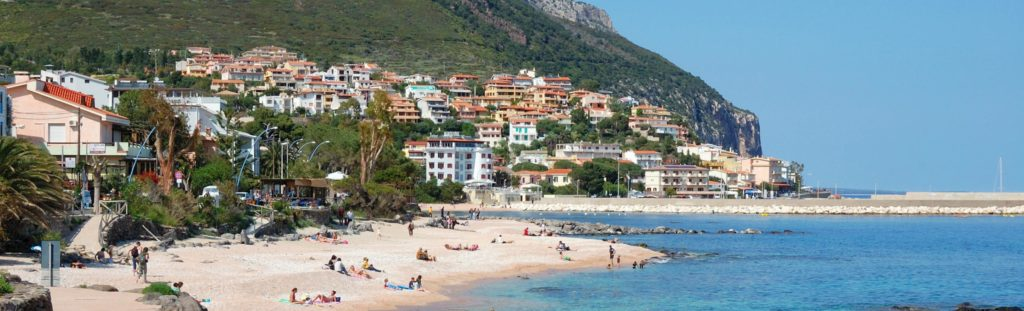 image with cala gonone harbour in sardinia