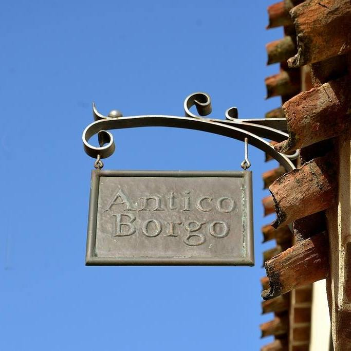 image of the entrance of Hotel Antico Borgo Galtellì