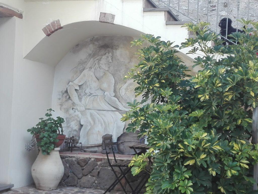 image of a Murales at Antico Borgo Hotel Galtellì