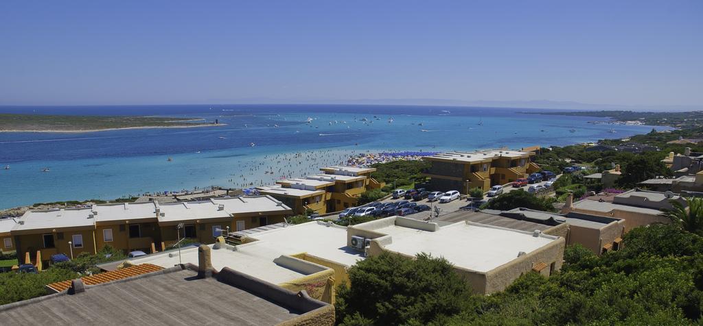 landscape of la pelosa beach in Stintino Sardinia Italy