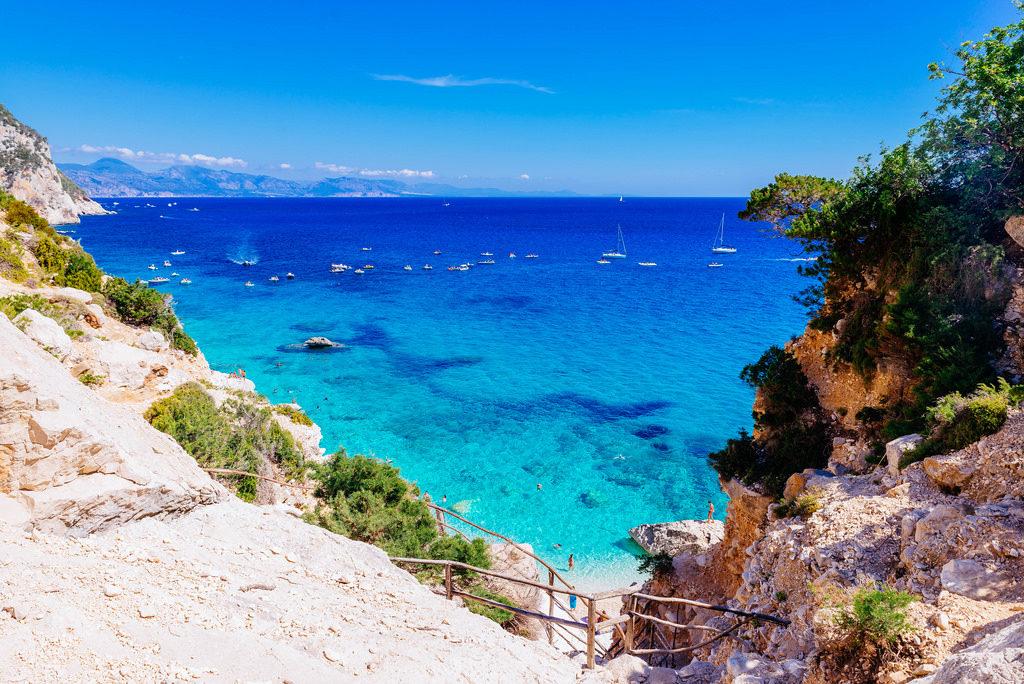 image of baunei coast in sardinia