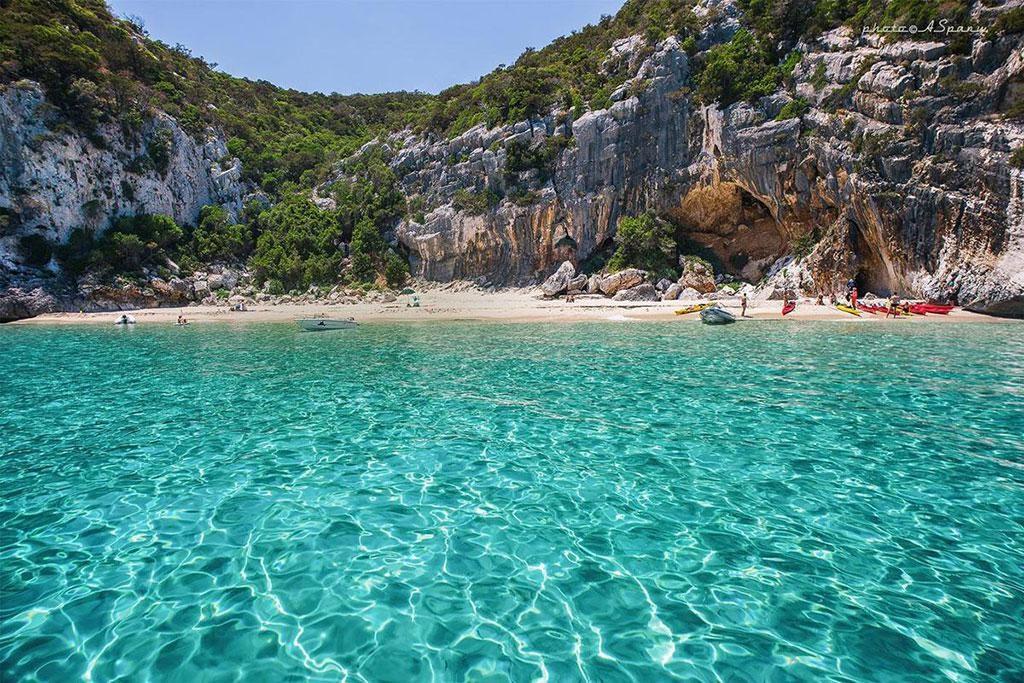 cala gonone coast sardinia
