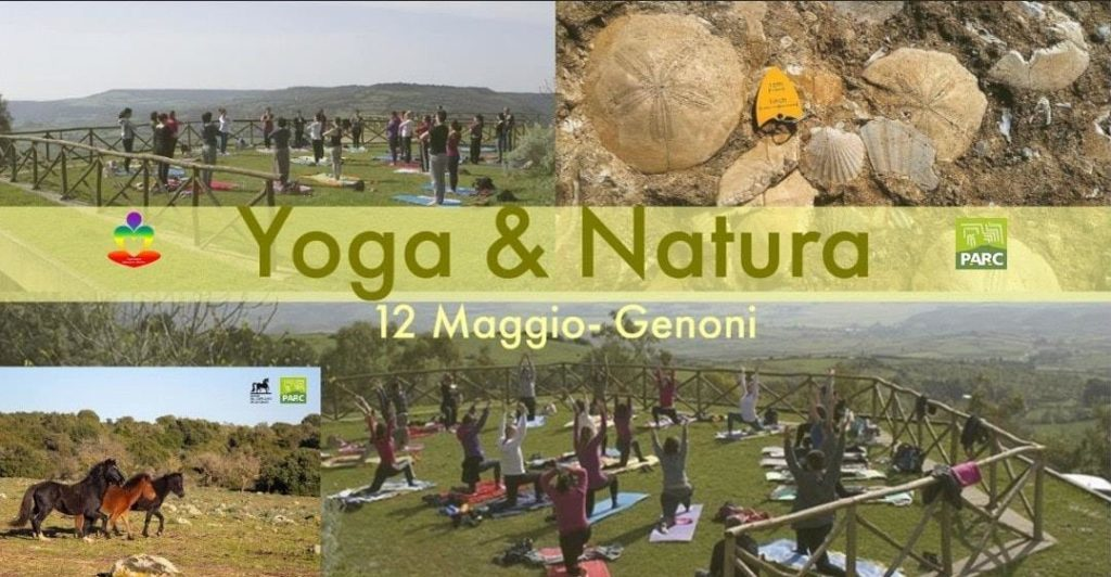 locandina evento yoga in Sardegna