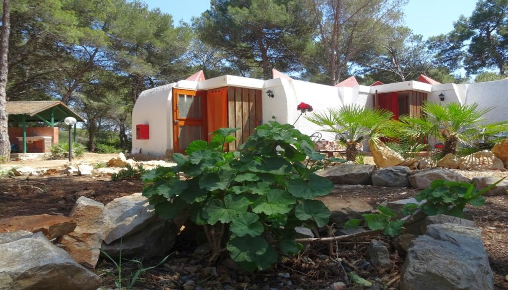 bungalows at villaggio nurral campsite alghero