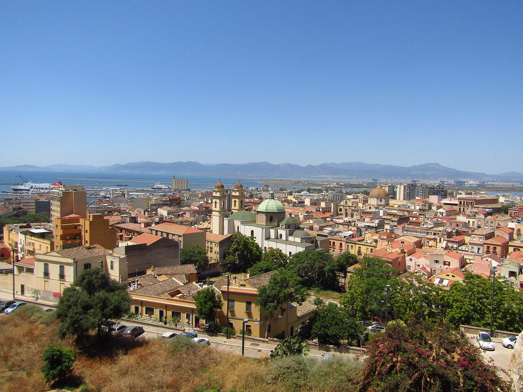city of cagliari sardinia