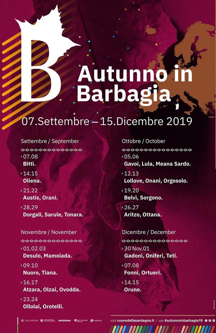 autumn in barbagia sardinia