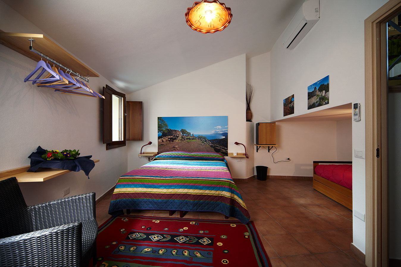 bedroom B&B Da Zietto Cala Gonone Dorgali