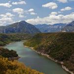 Cedrino river sardinia
