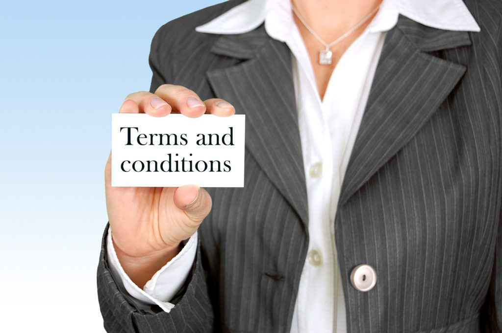 rental car terms and conditions