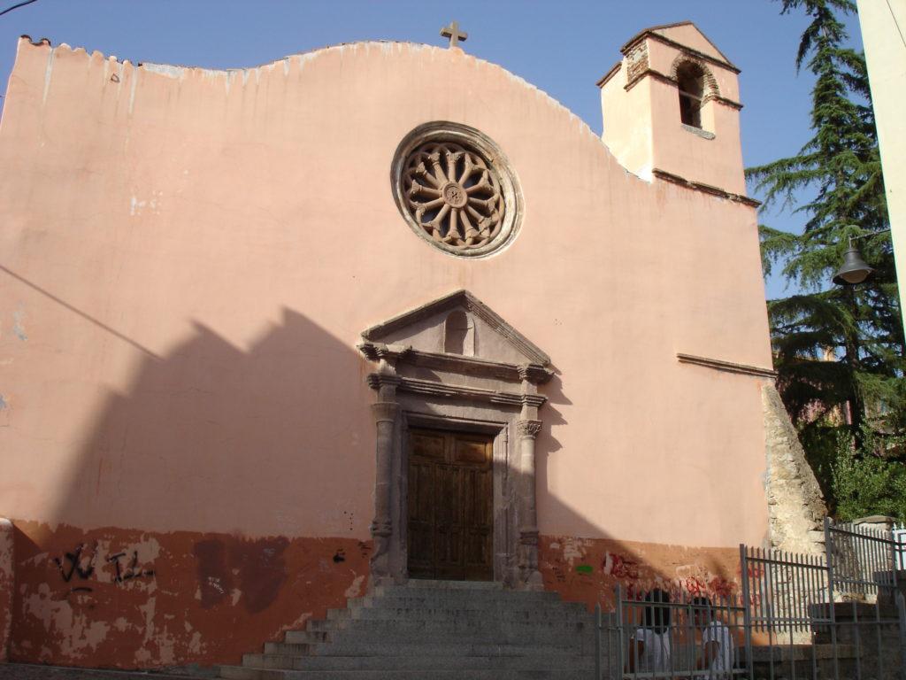 chiesa delle grazie a nuoro