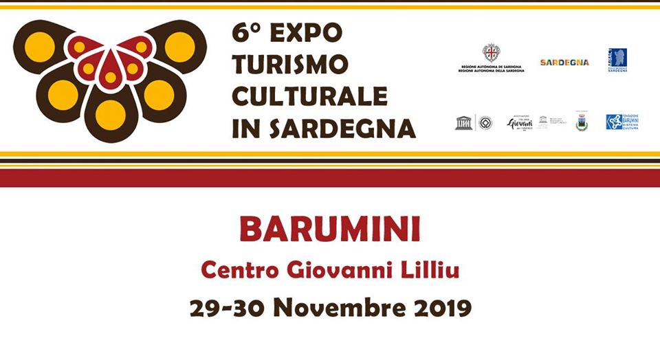 locandina expo turismo culturale barumini 2019
