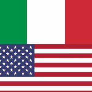 bandiera unione italia usa