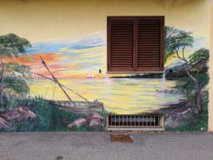 murales di santa lucia a siniscola