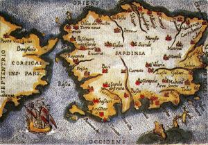 cartografia antica della Sardegna
