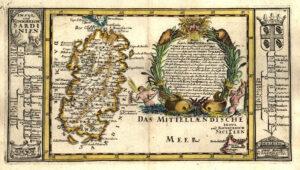 cartografia della Sardegna 1704
