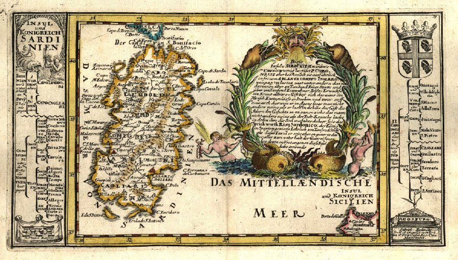 Immagini Della Cartina Geografica Della Sardegna.Carte Geografiche Storiche Della Sardegna Le Mappe Dei Nostri Avi