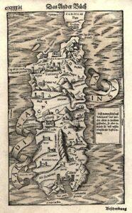 carta della sardegna del 1500