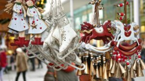 mercatino di natale decorazioni